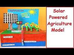solar irrigation (agriculture) model for school science project Science Exhibition Projects, Science Project Models, School Science Projects, Science Notes, Science Experiments Kids, Science For Kids, Renewable Energy, Solar Energy, Solar Power