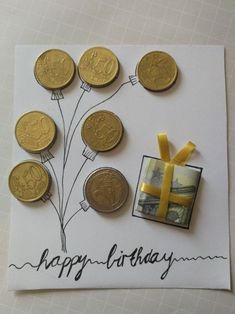 Geld Geschenkidee - Geschenkideen - Best Picture For DIY Birthday Cards for him For Your Taste You are looking for something, and it is going to tell you exactly what you are looking for, and you didn Diy Birthday, Birthday Cards, Birthday Gifts, Birthday Ideas For Mom, Creative Money Gifts, Gift Money, Farewell Gifts, Diy Gifts For Kids, Small Gifts
