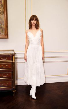 nevenka is a sustainable luxury eastern european fashion house specialising in ready to wear and custom made garments. all garments are made in melbourne in our own atelier. Midi Length Skirts, Embroidered Silk, European Fashion, Hemline, Custom Made, Bodice, Ready To Wear, White Dress, Gowns