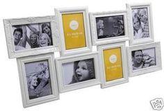 Marco de pared para 8 fotos Magic múltiple blanco