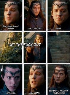 """Lindir, grudgingly at your service. """"The way I see it, Lindir is Elrond's personal assistant, so anything Elrond doesn't want to do, he throws on me. When all the dwarves come to stay with Gandalf at Rivendell, I'm the guy there looking after them and dealing with their terrible behavioural problems."""" Bret McKenzie"""