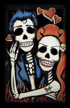 El dia de los muertos #rockabilly versión
