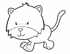 animal coloring pages for kids: horse | animal - Cute Jungle Animal Coloring Pages