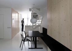 home design with minimalist interior design Modern Home Interior Design, Minimalist Interior, Interior Design Studio, Minimalist Design, Interior Architecture, Design Room, Interior Ideas, Small Apartment Interior, Apartment Design