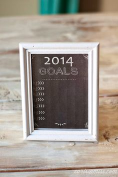 Carissa Miss: 2014 New Years Resolution Printable