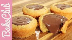 Nutella Cookie Cups | BakeClub