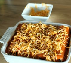 ... food on Pinterest | Chicken Enchiladas, Enchiladas and Mexicans