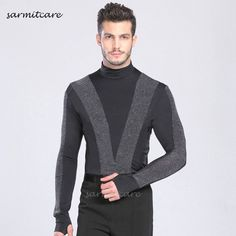 I found some amazing stuff, open it to learn more! Don't wait:https://m.dhgate.com/product/d083-latin-male-turtle-neck-long-sleeve-latin/377204324.html