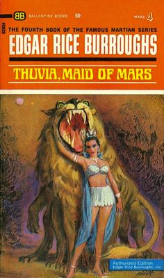 Thuvia, Maid of Mars is a science fantasy novel by Edgar Rice Burroughs, the fourth of the Barsoom series.