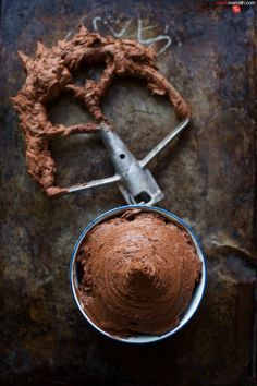 SUPER SEXY CHOCOLATE BUTTERCREAM FROSTING. Might be the best thing you ever eat. #recipe MarlaMeridith.com ( @MarlaMeridith )