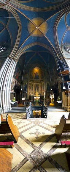 Remagen Apollinaris Church, Germany- i dont go to church, but if all churches looked like this i'd go every day!