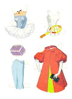 Friend of Barbie includes. Two dolls, one brown hair and one blonde;  Seven sheets of clothes and accessories. Midge Best Friend of Barbie Cut-Outs |  Artist: Al Anderson?  3 of 12