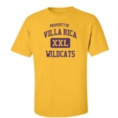 Villa Rica High School - Villa Rica, GA   Men's T-Shirts Start at $21.97