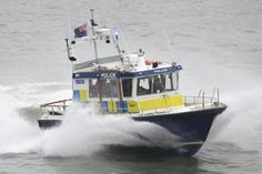 'Gabriel Franks II' Police launch on a call.