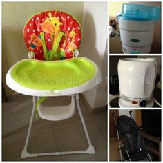 Review: Thomson Family Resort, Protur Aparthotel Bonaire   Baby equipment for hire all from Mothercare  - highchair  - steriliser - bottle warmer  - stroller