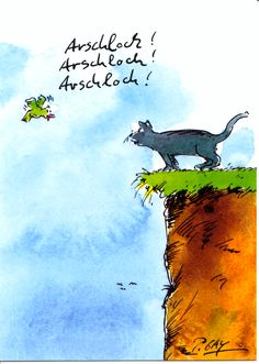 Peter Gaymann -Katzen