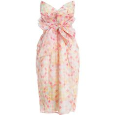 Ringmaster Paperbag Dress ($340) ❤ liked on Polyvore featuring dresses, vestidos, robes, harlequin dress, diamond print dress, summer dresses, pink summer dresses and pink dress