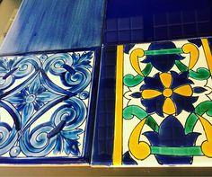 #TileThursday: Bold and blue which of these tiles would you choose? #boldtiles #ByrdTile #tilepattern #tilestyle #homedecor #homedesign #tileideas #tilewall #tiletuesday #tiledesign #remodel #renovation #backsplash #Raleigh #raleighdesigner #Greenville #greenvilledesigner #newhome #stylish #bright #brightandbold #shinebright #bolddesign #boldcolors #ihavethisthingswithtiles #tiledistributors #tileaddiction #tilelove #tiled by byrdtile