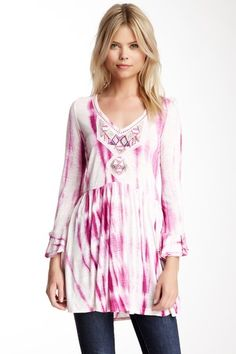 Free People Summer Nights Tunic by Blouse Boutique on @HauteLook
