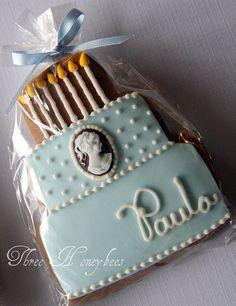 Birthday Cake Cookie by Three Honeybees, via Flickr
