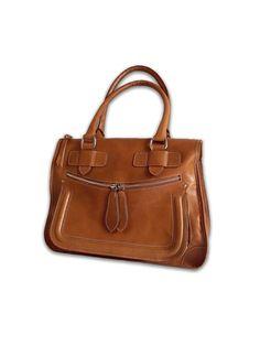 Handmade leather handbag / purse / shoulderbag / by artoncrafts, $160.00