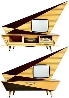 "Kuba Komet auction pics ""The most famous design TV in der World..."" it says."