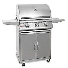 Blaze Outdoor Products 3-burner Built-in Gas Grill With Cart