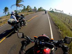 Casal faz viagem de moto de 1.853km de Minas ao Sul da Bahia.