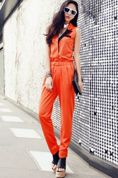 women's orange prison jumpsuit | oh and I am wearing white sock ...