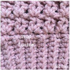 Trui Louise handmade by juf Sas met gratis haakpatroon Crochet Blanket Patterns, Baby Blanket Crochet, Knitting Patterns, Boyfriend Crafts, Thing 1, Valentine's Day Diy, Valentines Diy, Merino Wool Blanket, Christmas Diy