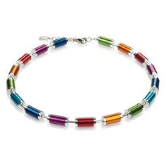 Coeur de Lion Vivacity Steel Cylinder Necklace - K 4154 #coeurdelion