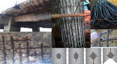 In order to resist damage and failure of concrete structures, steel reinforcement Corrosion control methods are undertaken. Near about forty percentage of collapsing of concrete structures occur due to corrosion of inner steel reinforcement.
