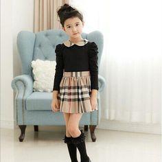 $9.22 (Buy here: https://alitems.com/g/1e8d114494ebda23ff8b16525dc3e8/?i=5&ulp=https%3A%2F%2Fwww.aliexpress.com%2Fitem%2FBaby-Girl-Striped-Dress-Kids-Spring-Clothes-Toddlers-Infant-Elegant-Dress-Cotton-Long-Sleeve-Shirt-Vestido%2F32781245469.html ) Teenagers dress Striped Girls Dress Spring Toddlers Infant England Style Cotton Long Sleeve Shirt Vestido infantil Clothing  for just $9.22