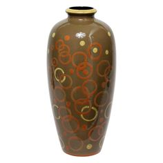 Francis Jourdain Large Glazed Ceramic Vase | From a unique collection of antique and modern ceramics at https://www.1stdibs.com/furniture/dining-entertaining/ceramics/