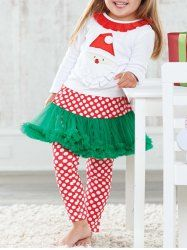 SHARE & Get it FREE   Santa T Shirt +Tutu Leggings Kids Christmas OutfitFor Fashion Lovers only:80,000+ Items • New Arrivals Daily • Affordable Casual to Chic for Every Occasion Join Sammydress: Get YOUR $50 NOW!