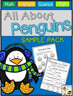 Classroom Freebies Too: Penguin Print & Go Fun