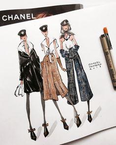 Drawing fashion sketches moda Ideas for 2019 Fashion Design Sketchbook, Fashion Illustration Sketches, Illustration Mode, Fashion Design Drawings, Fashion Sketches, Drawing Fashion, Art Sketchbook, Portfolio Mode, Fashion Portfolio