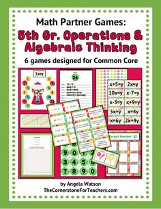 5th Grade Operations and Algebraic Thinking