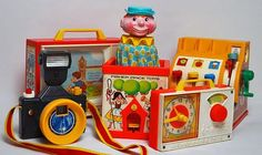 Vintage Fisher Price...I still have the jack in the box
