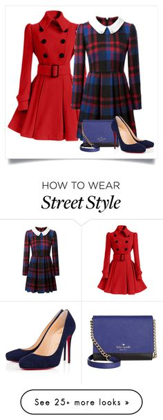 """""""Untitled #315"""" by darklovr on Polyvore featuring Kate Spade and Christian Louboutin"""