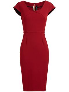 Roland Mouret panelled dress