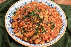 Turkish Chickpea and Potato Stew with Baharat – Recipe - Easy Ethnic Recipes - World Vegan Food - Vegetarian Cookbook, Vegetarian Recipes Easy, Healthy Recipes, Kosher Recipes, Cooking Recipes, Cooking Food, Soup Recipes, Recipies, Baharat Recipe