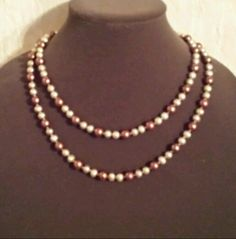 """Honora Chocolate Pearl Necklace Cultured Freshwater Brown 39"""" Strand #Honora #StrandString"""