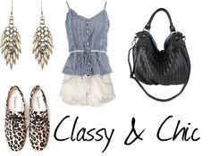 """Classics"" by beach-blondie ❤ liked on Polyvore"