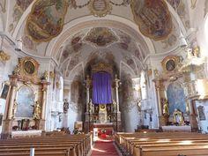 Katholische Pfarrkirche Mariae Empfängnis - Siegsdorf, Lk Traunstein, Bayern, Germany