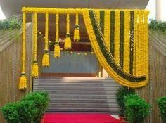 66 ideas wedding backdrop indian mehndi decor for 2019 Desi Wedding Decor, Wedding Hall Decorations, Marriage Decoration, Backdrop Decorations, Wedding Mandap, Backdrop Ideas, Backdrop Wedding, Wedding Vows, Wedding Table