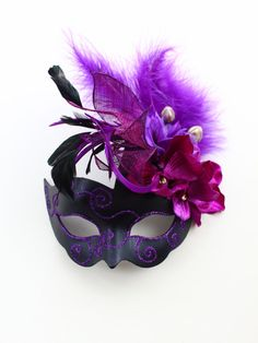 Hey, I found this really awesome Etsy listing at https://www.etsy.com/uk/listing/469643344/luxury-purple-black-rose-pink-silver