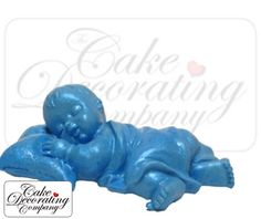 Sleeping Baby Silicone Mould By First Impressions  Seasonal cakepins.com