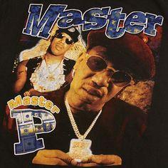 Vintage Master P Rap Concert Hip Hop T Shirt No Limit 90u0026