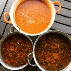 Macaroni van vroeger - Duizenden1dag Macaroni, Chana Masala, Barbecue, Chili, Soup, Pasta, Brie, Ethnic Recipes, Noodles
